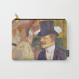 The Englishman, Henri de Toulouse Lautrec, 1892 Carry-All Pouch