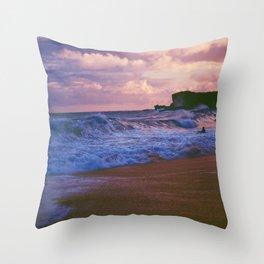Waves Dance Throw Pillow
