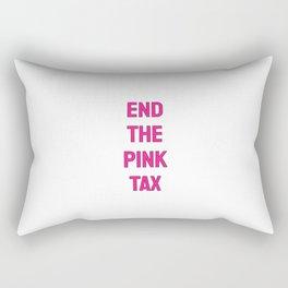 End the Pink Tax - Feminist Rectangular Pillow