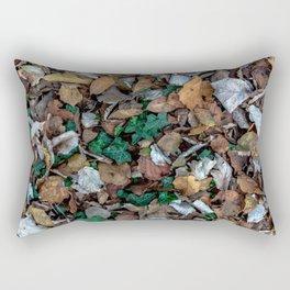 Autumnal leaves bed Rectangular Pillow
