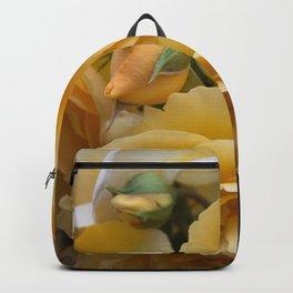 Graham Thomas old fashioned rose Backpack
