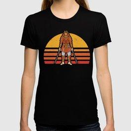 Retro Vintage Samurai Warrior Katana Sword Bushido  T-shirt