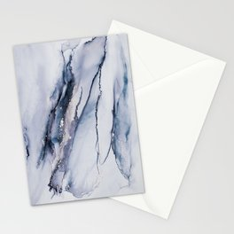Alcohol Ink Liquid Marble Elegant Indie Art Home Decor Trend Stationery Cards