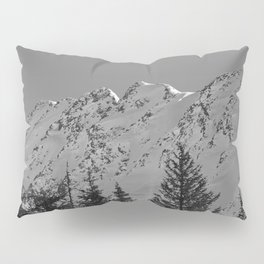 Gwin's Winter Vista - B & W Pillow Sham