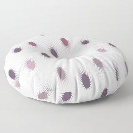 Spike Plum Floor Pillow