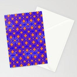 Flowered Orange Vibes Stationery Cards