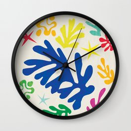 Matisse Exhibition Wall Clock