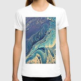 waves of blue T-shirt