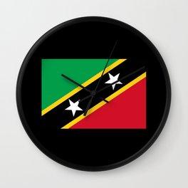 Kn Flag Wall Clock