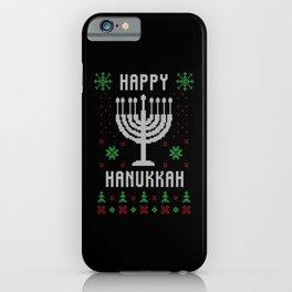 Happy Hanukkah iPhone Case