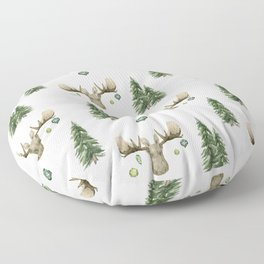 The Moose Wonderful Time - Pattern Floor Pillow