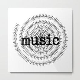 Sol keys and music Metal Print