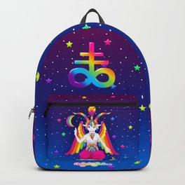 1997 Neon Rainbow Baphomet Rucksack