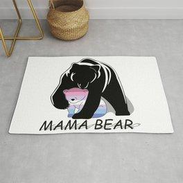 Mama Bear Bigender Rug