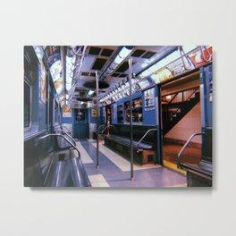 New York City // Retro 38 Metal Print