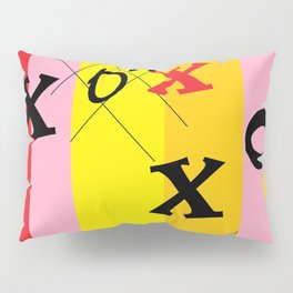 X's and O's Pillow Sham