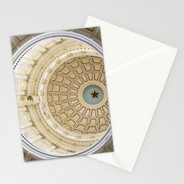 Austin Texas Capital Dome Stationery Cards