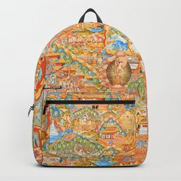 Mandala Buddhist 14 Backpack