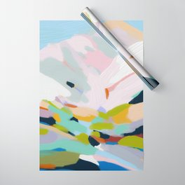 abstract summer hills Wrapping Paper