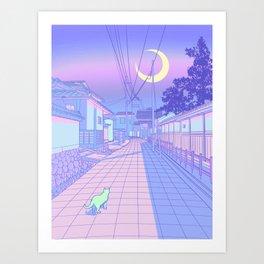 Kyoto Nights Kunstdrucke