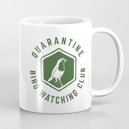Quarantine Bird Watching Club Coffee Mug