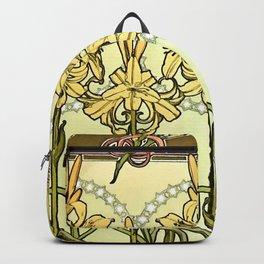 "Alphonse Mucha ""Documents Décoratifs"", 1901 (33) Backpack"