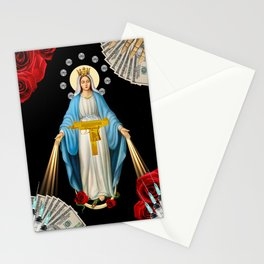 DOPE & DIAMONDS (religion is the opium of the people). Stationery Cards
