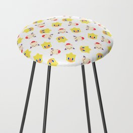 final fantasy chocobo moogle pattern Counter Stool