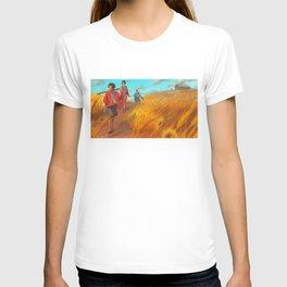 Searching of the Sunflower Samurai T-shirt