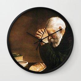 Grace Eric Enstrom Wall Clock