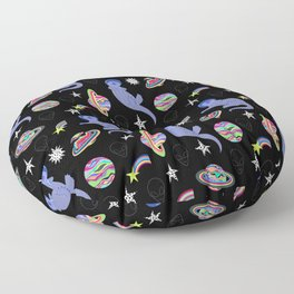 Otter Space Floor Pillow