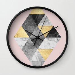Scandinavian composition VI Wall Clock