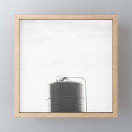 Grain Bin Framed Mini Art Print