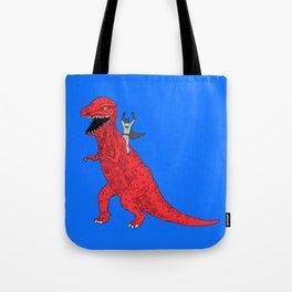 Dinosaur B Forever Tote Bag