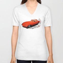 Vintage 1969 Jaguar    Nadia Bonello Unisex V-Neck