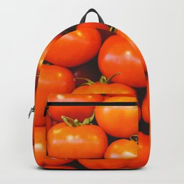 Mid century tomatoes from Italy market Backpack