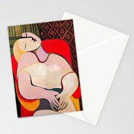 Pablo Picasso A Dream 1932 (Le Reve) Artwork T Shirt Stationery Cards