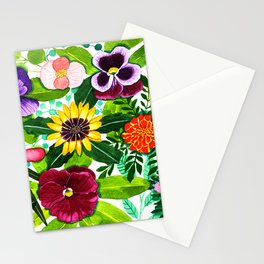 Flower Portraits Stationery Cards