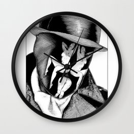 asc 747 - Le Rorschach (You are what you see) Wall Clock