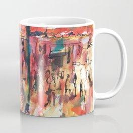 Watercolor of Marrakech market Coffee Mug