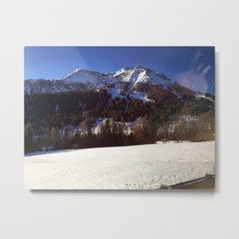 montagna Metal Print