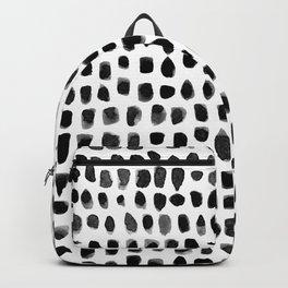 Dots (Black) Backpack