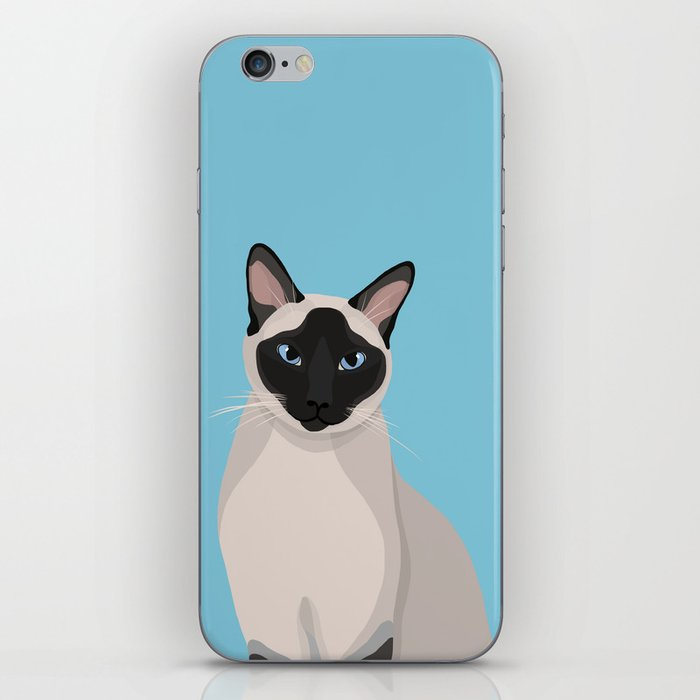 The Regal Siamese Cat iPhone Skin