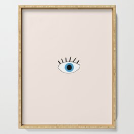 Blue eye Serving Tray
