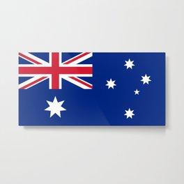 Australian flag Metal Print