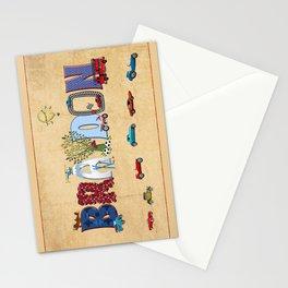 BRAYDON / personalised name illustration Stationery Cards