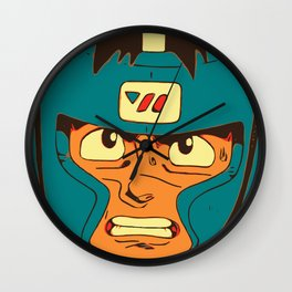 Born To Fight Wall Clock