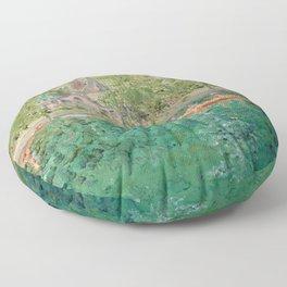 Rhine River Floor Pillow