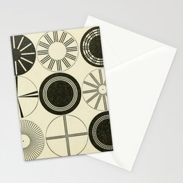 Vintage Astigmatic Chart Stationery Cards