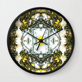 Beauty Among Thorns Wall Clock